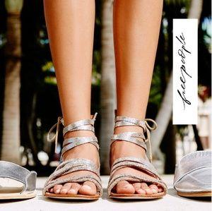 Gorgeous Free People Gladiator Sandals